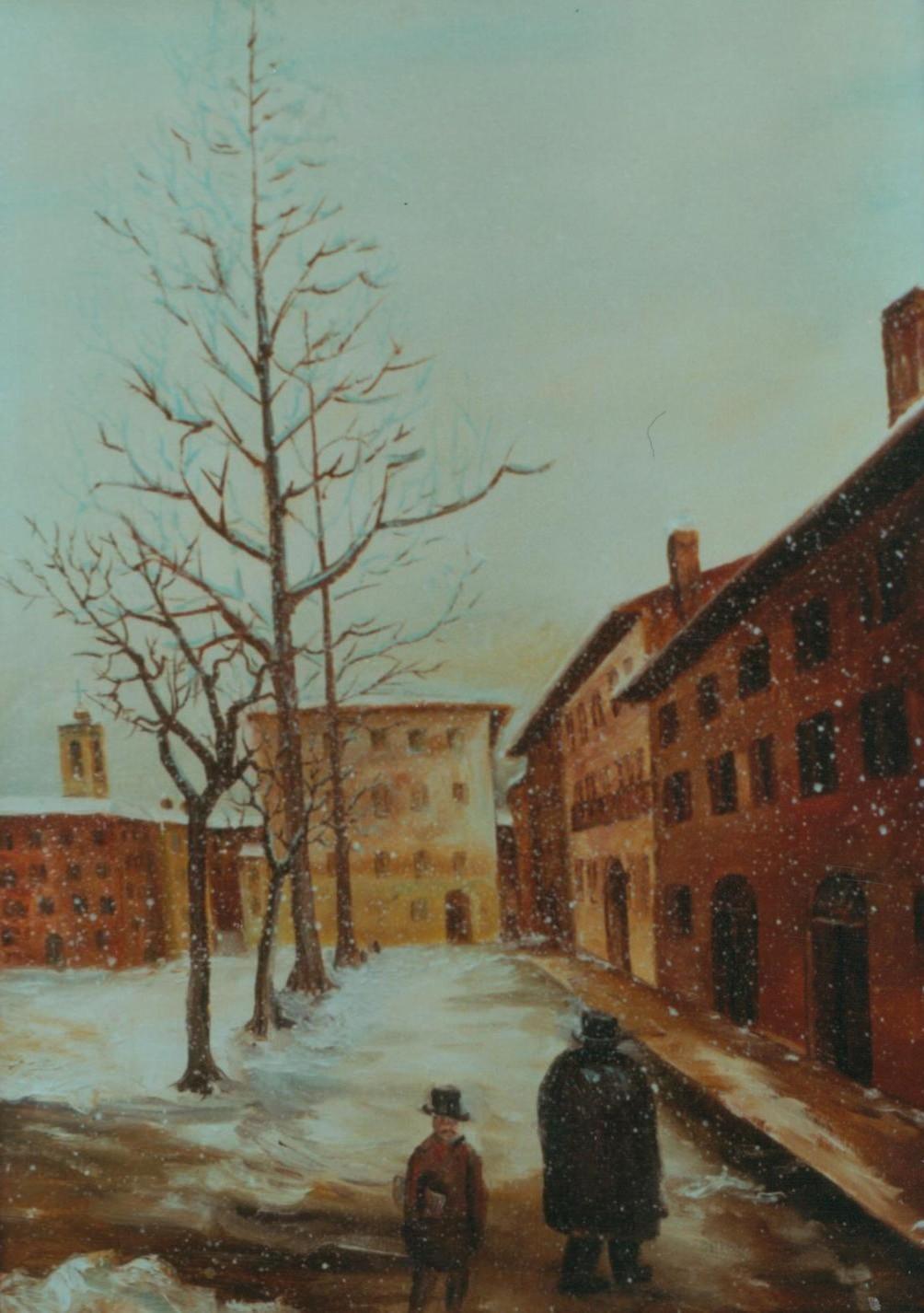 Nevicata a Pavia