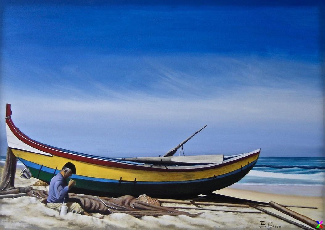 La barca ed il pescatore